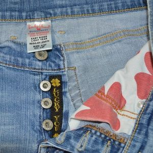Lucky Brand  Button Fly  Easy Rider Jeans Size 4